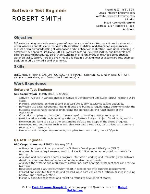 test engineer resume samples qwikresume software pdf for product manager position Resume Software Test Engineer Resume