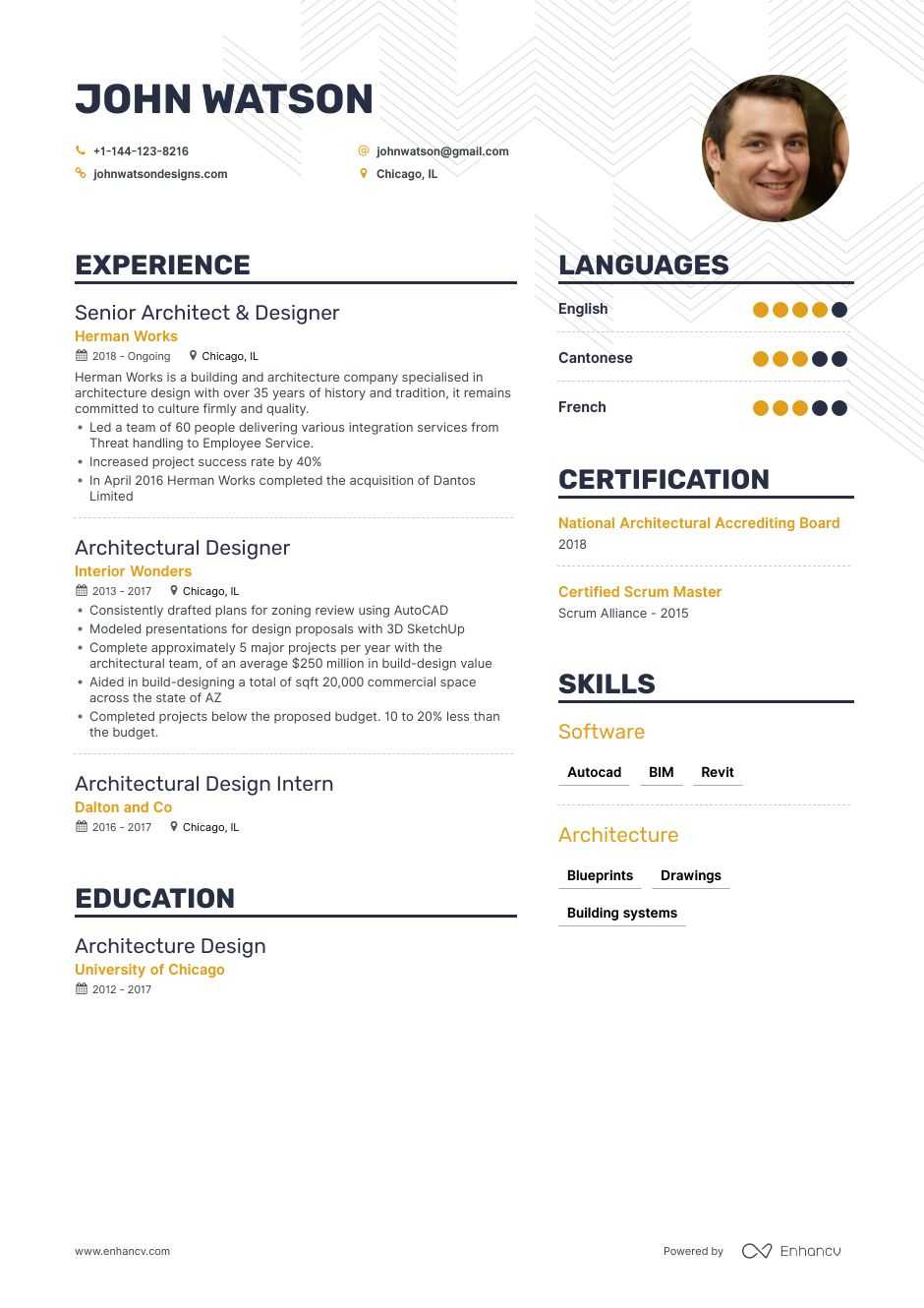 the best architectural designer resume examples skills to get you hired visualizer sample Resume Visualizer Resume Sample