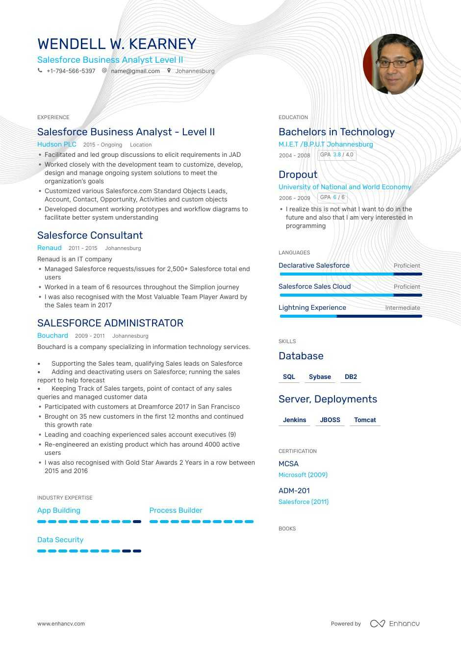 the best salesforce business analyst resume examples skills to get you hired art Resume Salesforce Business Analyst Resume