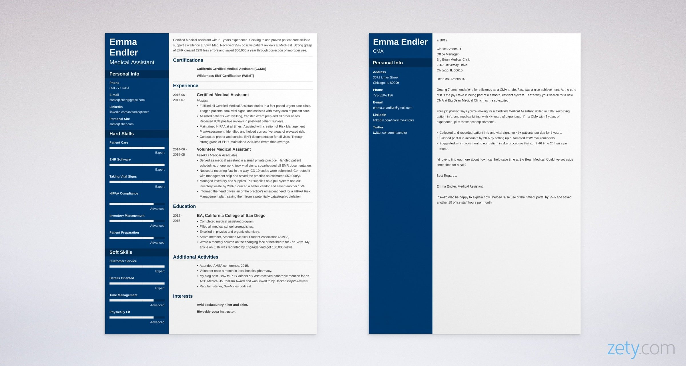 the difference between cover letter vs resume of and medical assistant example sharepoint Resume Difference Of Cover Letter And Resume