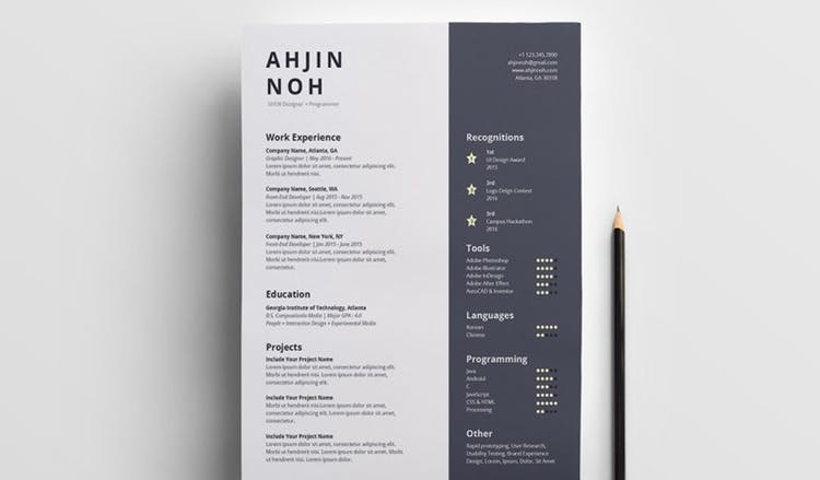 the indesign resume templates you need in redokun simple two column template free Resume Simple Two Column Resume Template