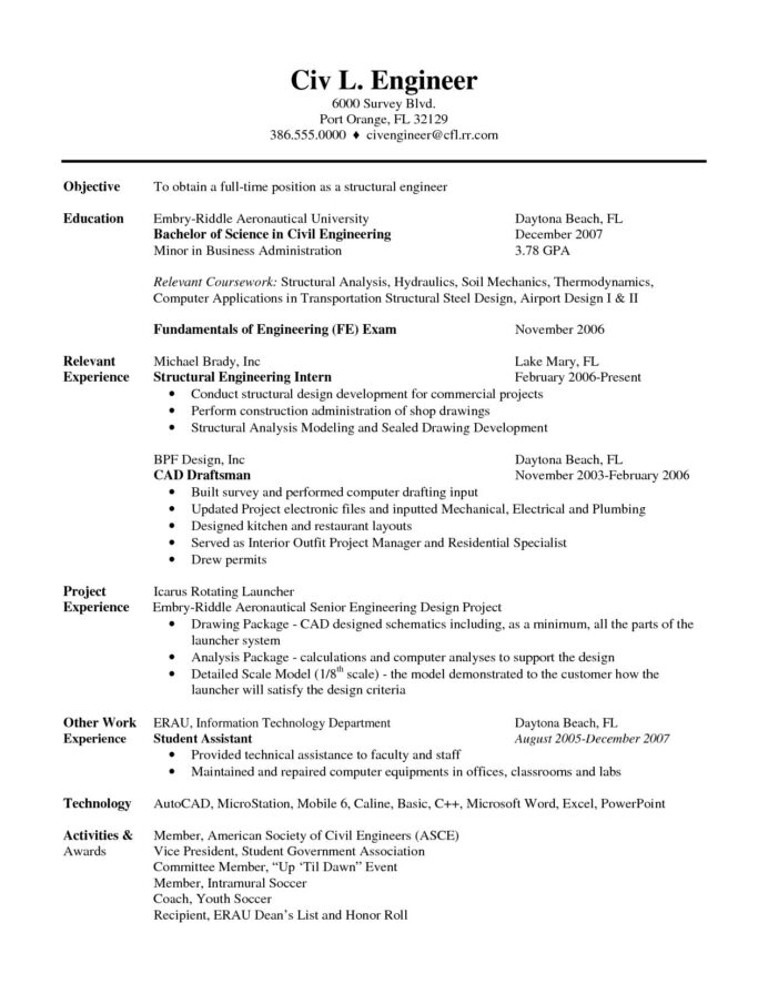 the sample civil engineer resume template student engineering script link suspend ps4 Resume Engineering Student Resume