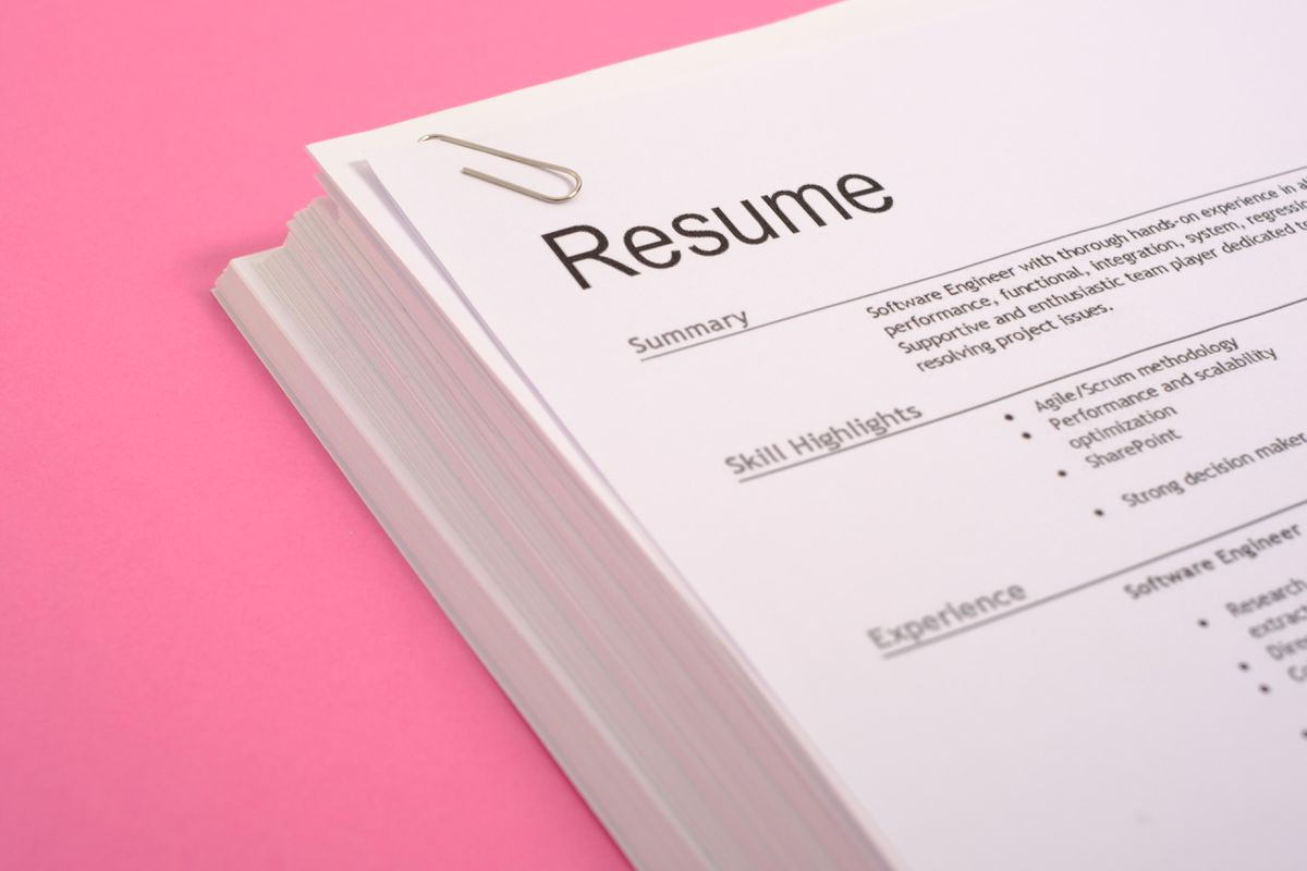 time to update your résumé here one secret use resume hands on experience https Resume Resume Hands On Experience