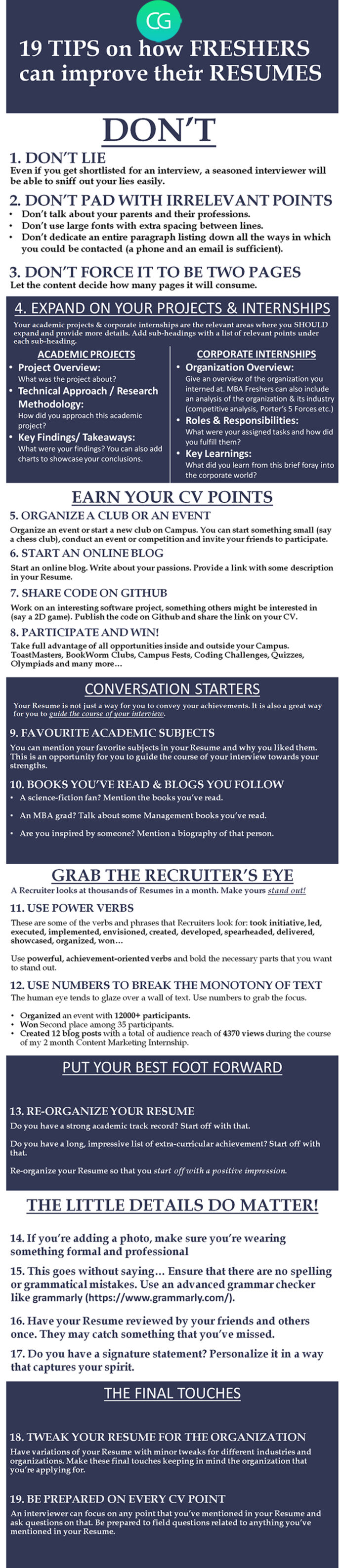 tips to improve your cv for freshers recruiter blog questions about resume their resumes Resume Questions About Your Resume
