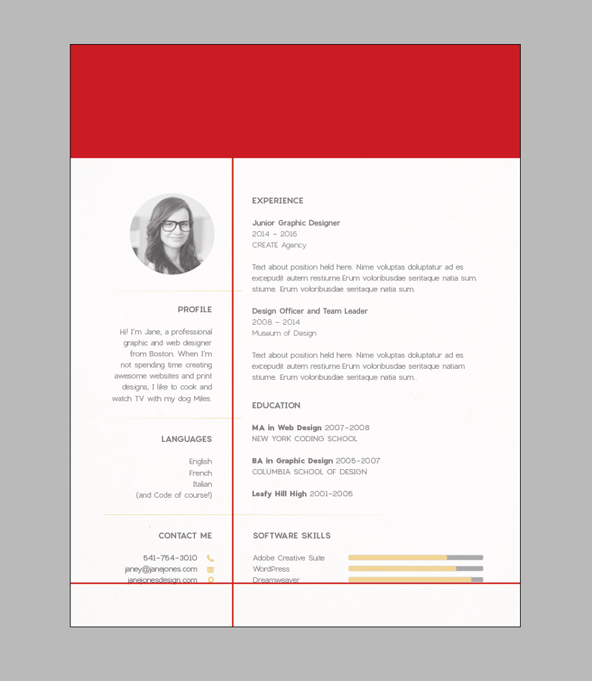 to create resume graphic design size templates for word supervisor position sample Resume Graphic Design Resume Size