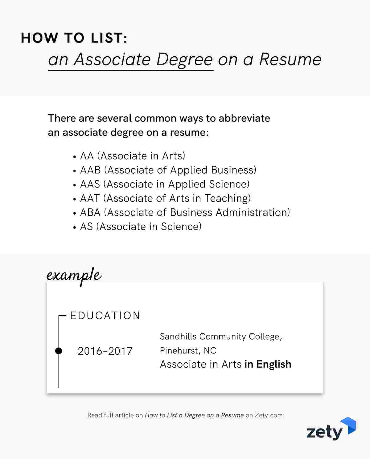 to degree on resume associate bachelor master college an best search engine for employers Resume College Degree On Resume