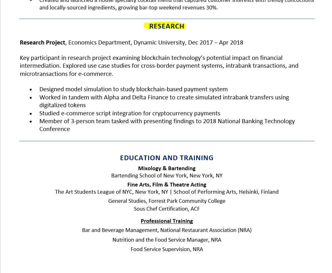 to include research on resume examples and tips for position example student job accounts Resume Resume For Research Position