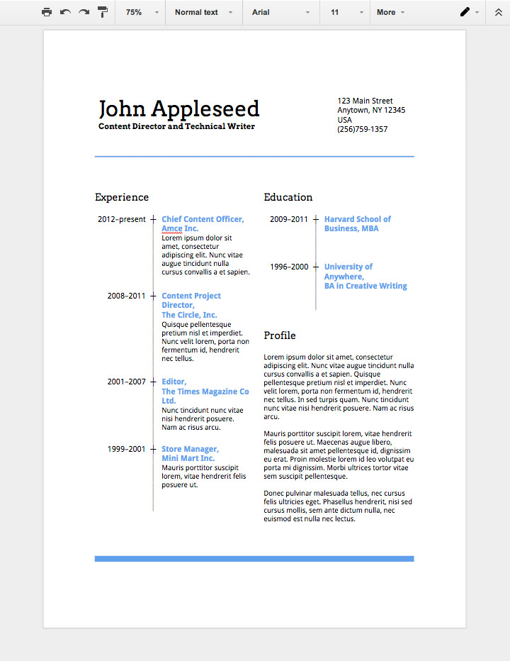 to make professional resume in google docs can you create on first job template product Resume Can You Create A Resume On Google Docs