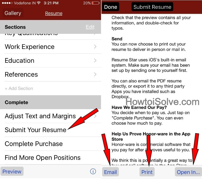 to make resume on iphone ipad in submit email and print from examples of objectives for Resume Make A Resume On Iphone