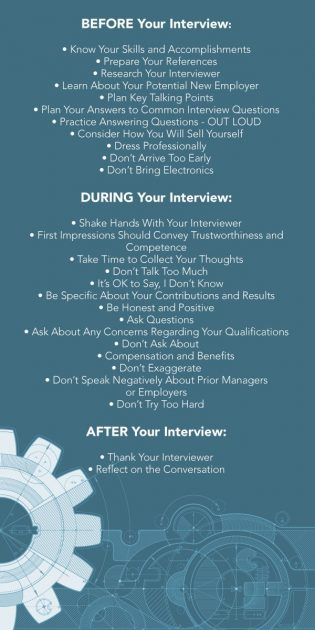 to prepare for your engineering interview resume job dialogue example engineer tips Resume Resume Job Interview Dialogue Example
