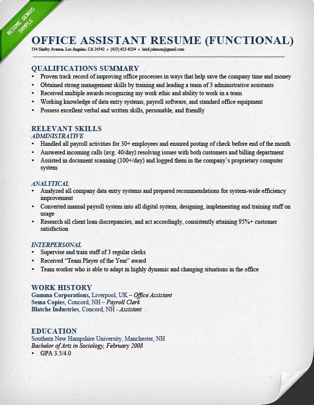to technical skills in resumes examples resumegenius resume attributes and office Resume Resume Attributes And Skills Examples