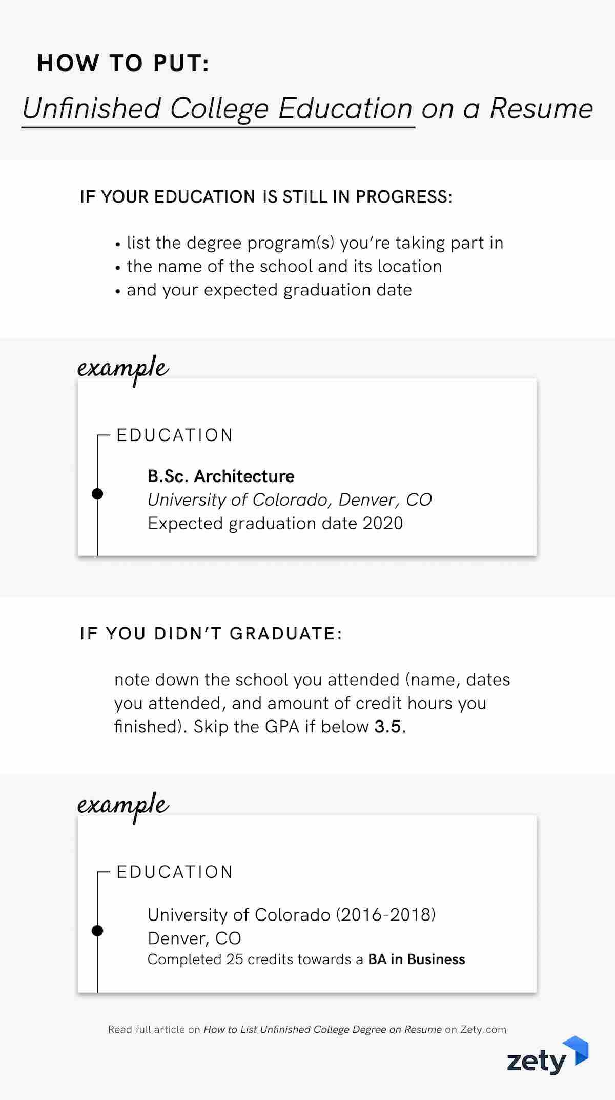 to unfinished college degree on resume examples brand manager objective tips membuat Resume College Degree On Resume