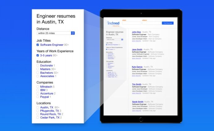 to use indeed advanced resume search find great candidates indeedresume serp Resume Indeed Advanced Resume Search