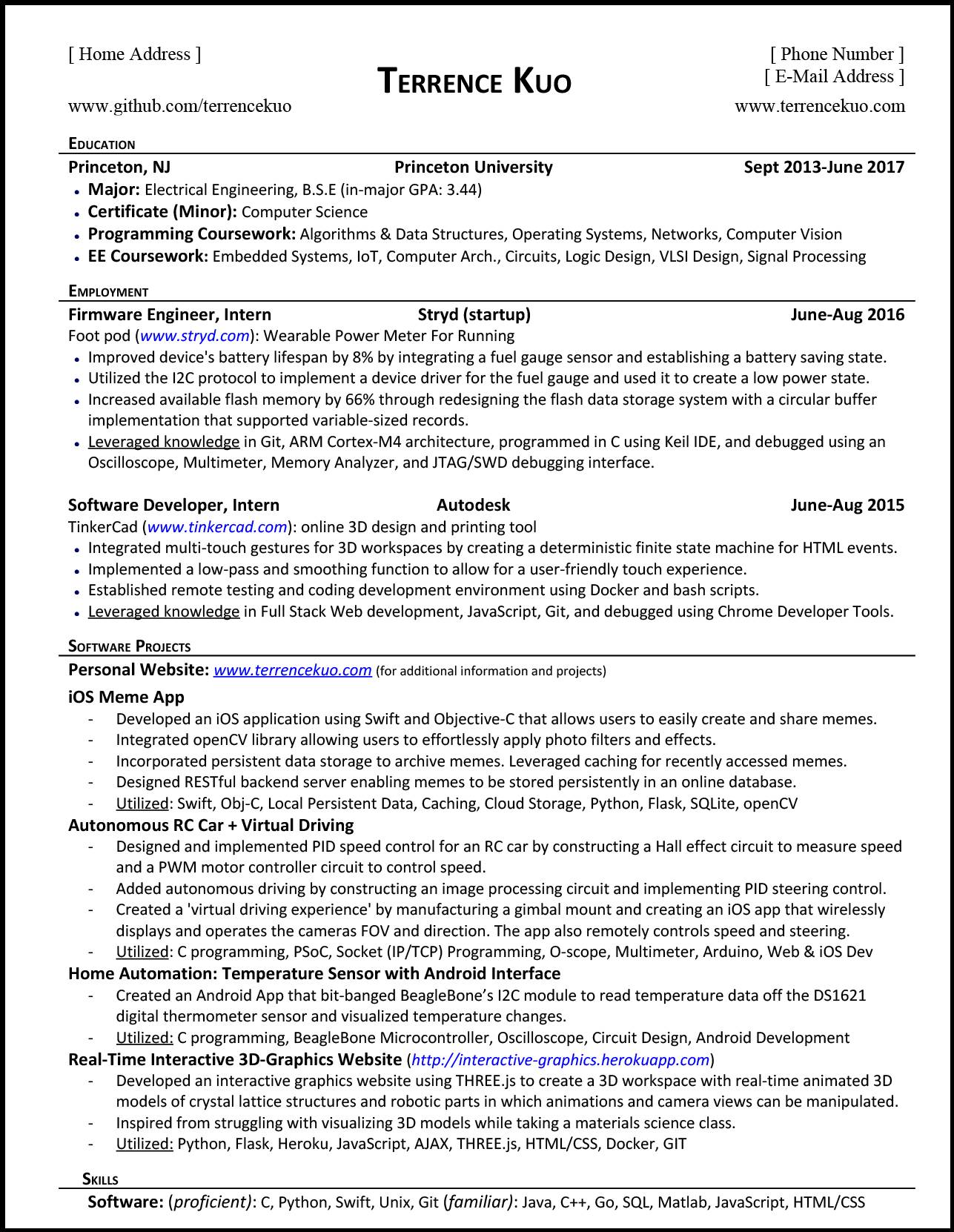 to write killer software engineering résumé computer programs for resume tk updated Resume Computer Programs For Resume