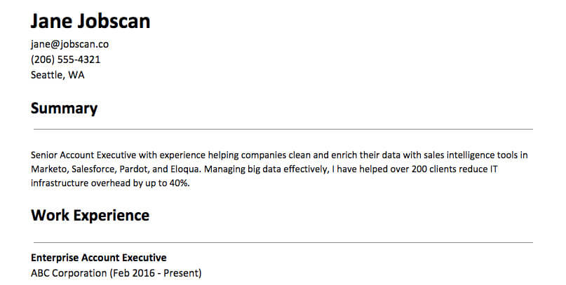 to write resume summary statement examples and tips the best for example spruce up oracle Resume The Best Summary For Resume