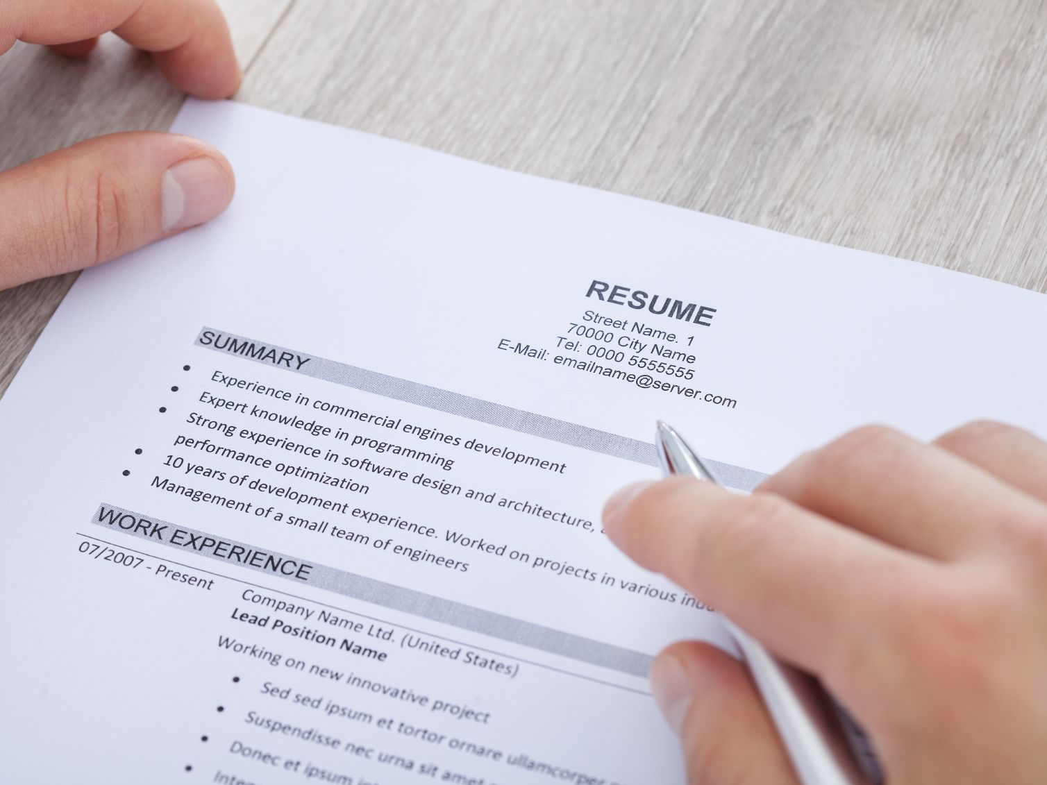 to write resume summary statement with examples profile vs objective 000033354382medium Resume Resume Profile Vs Objective