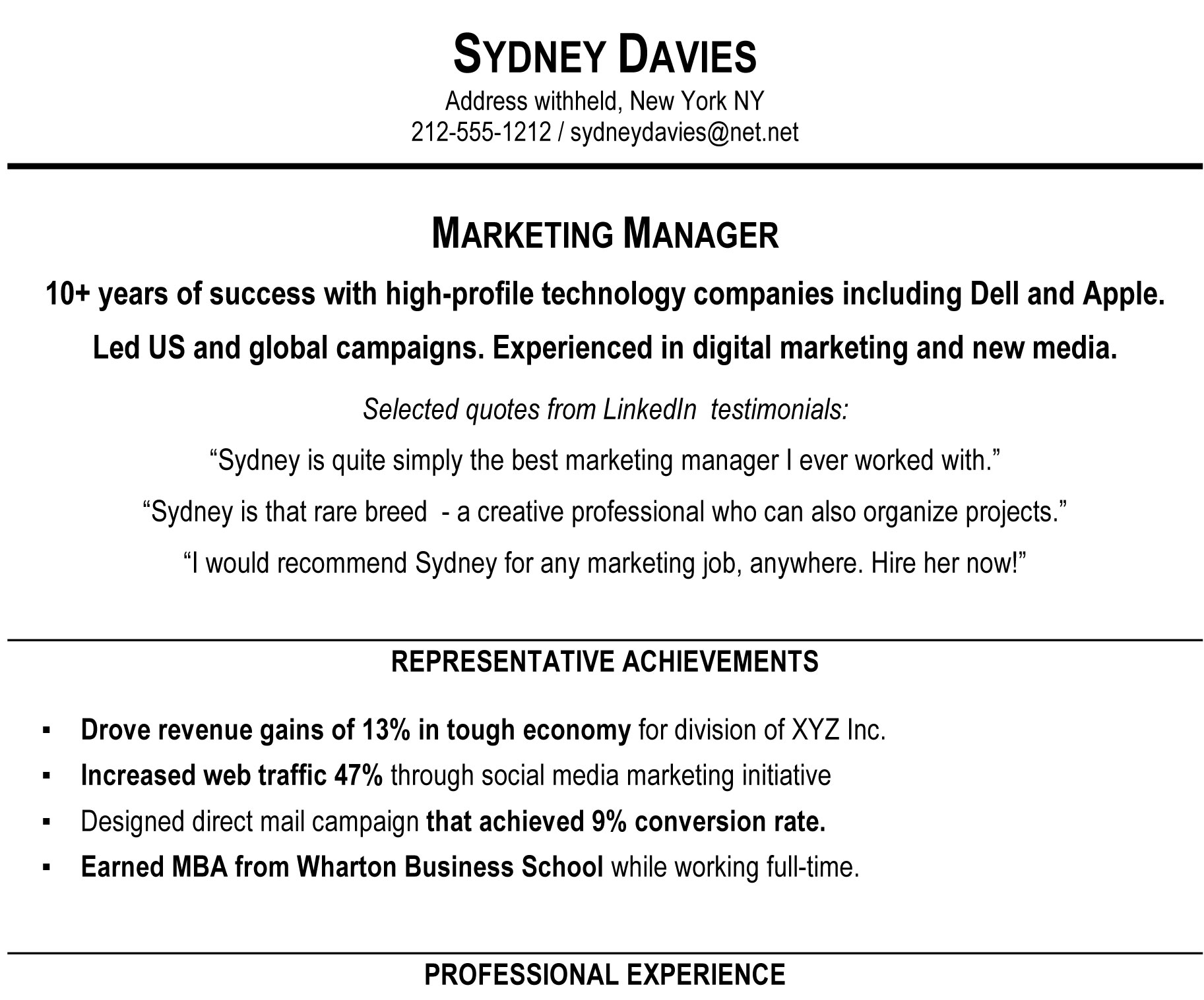 to write resume summary that grabs attention blog blue sky resumes examples sampleprofile Resume Resume Summary Examples