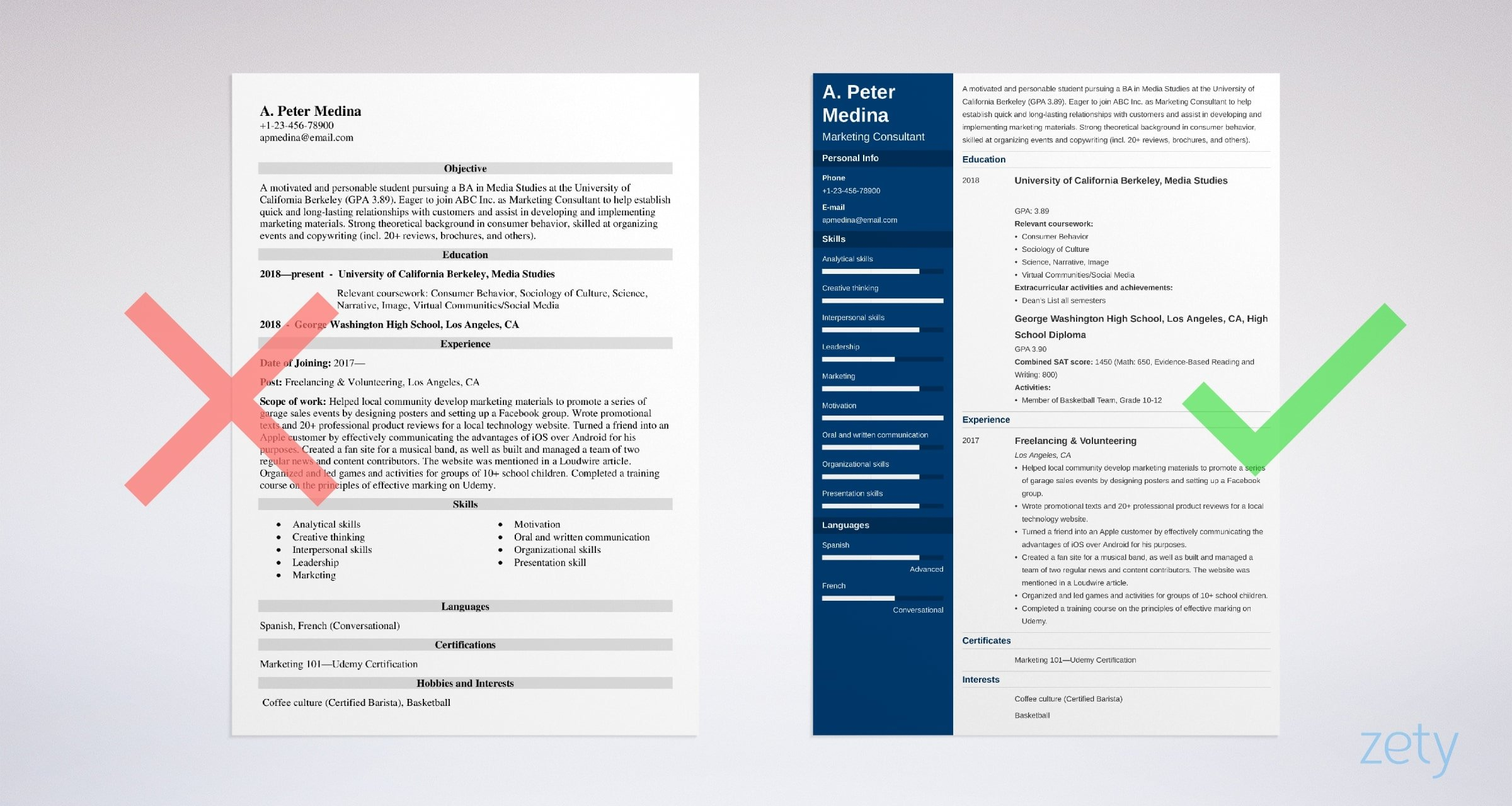 to write resume with no experience get the first job sample for freshers looking work Resume Sample Resume For Freshers Looking For The First Job
