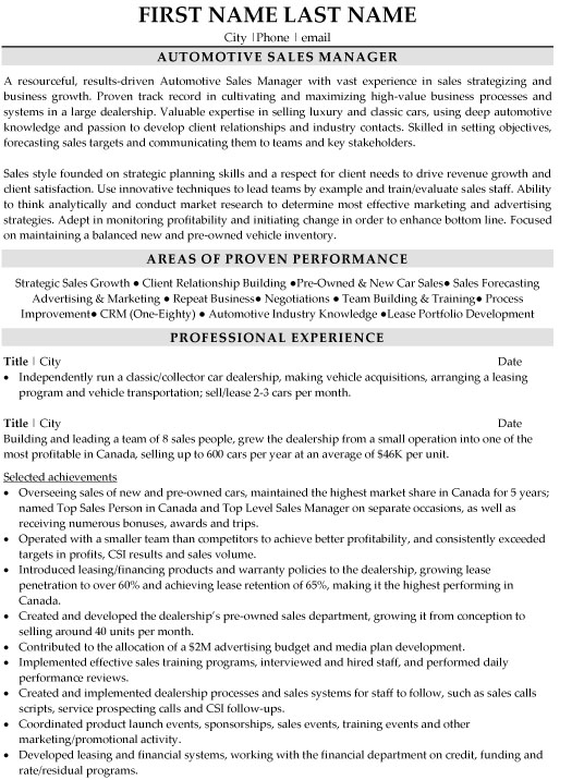 top automotive resume templates samples sample industry manager folder template word Resume Sample Resume Automotive Industry