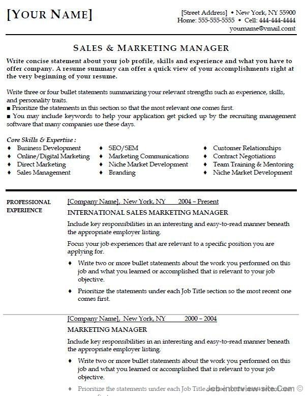 top best resume formats and examples job interview without table mechanical samples Resume Job Interview Without Resume