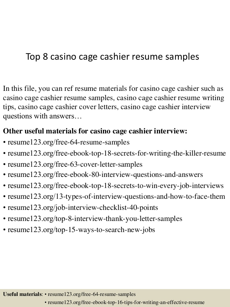 top casino cage cashier resume samples automotive service Resume Automotive Service Cashier Resume
