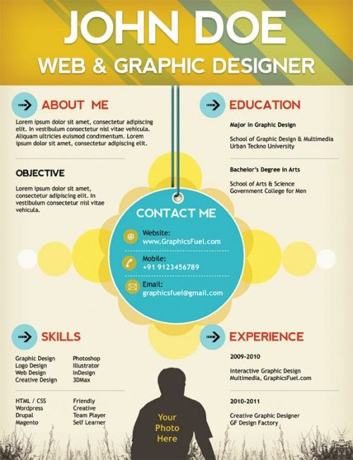 top creative resume templates for web designers template free graphic designer high Resume Resume For Graphic Designer Free Download