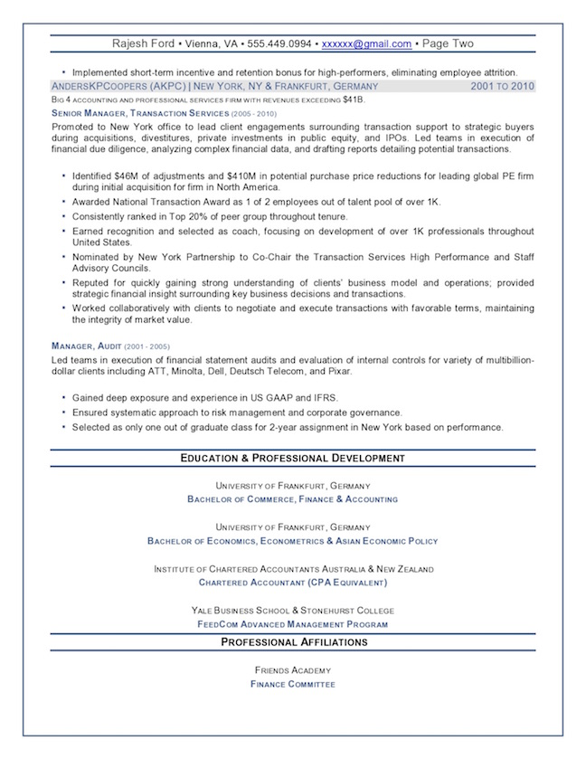 top executive resume writing examples senior level tips chief financial officer finance Resume Senior Executive Resume Tips