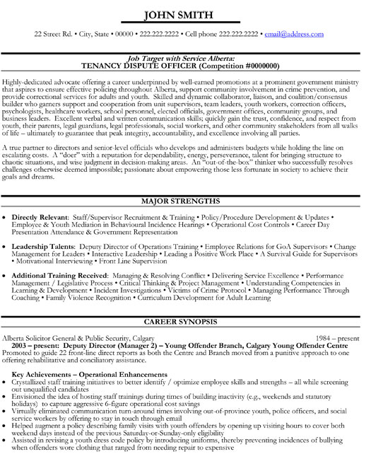 top government resume templates samples of employee gov executive deputy director dispute Resume Resume Of Government Employee