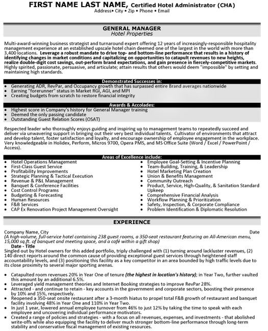 top hospitality resume templates samples format for industry hp general manager hotel Resume Resume Format For Hospitality Industry