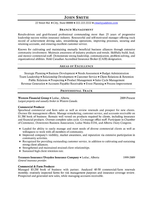 top insurance resume templates samples format for industry ins professional manager Resume Resume Format For Insurance Industry
