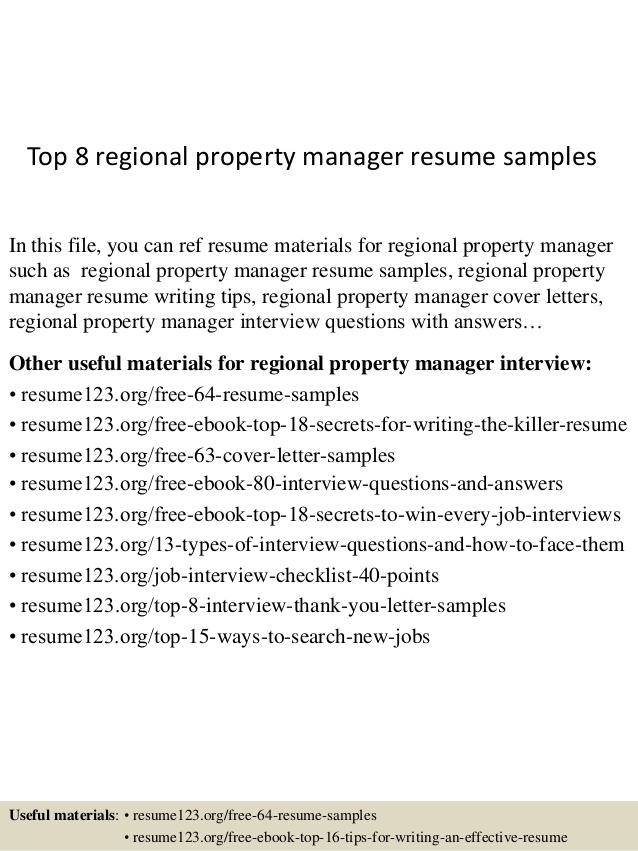 top regional property manager resume samples refrigeration engineer writing nursing well Resume Property Manager Resume