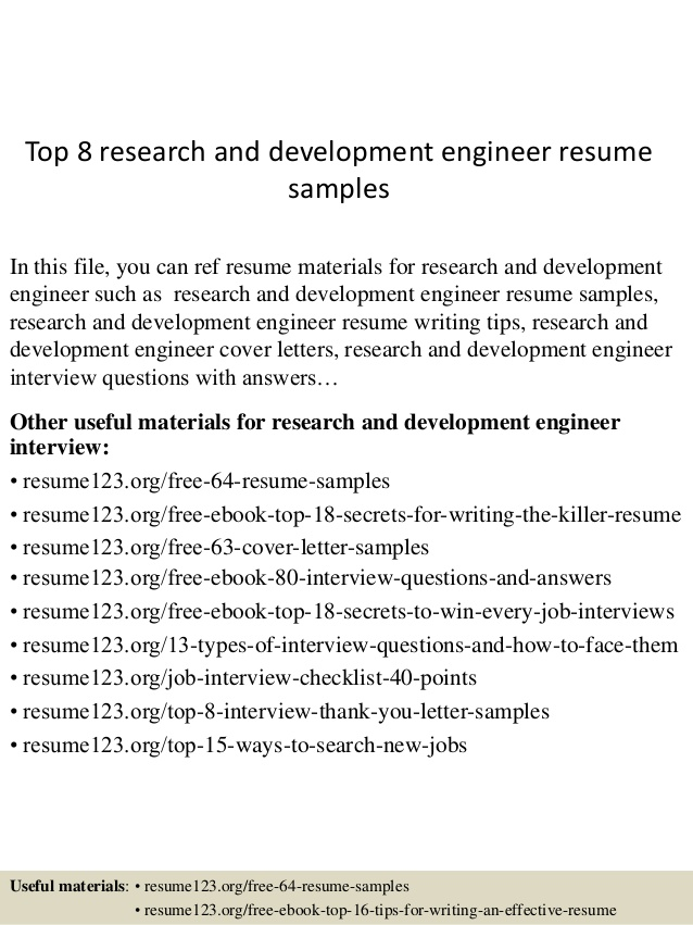 top research and development engineer resume samples for pharmaceutical listing degrees Resume Resume For Pharmaceutical Research And Development