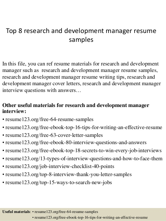 top research and development manager resume samples for pharmaceutical skill section on Resume Resume For Pharmaceutical Research And Development