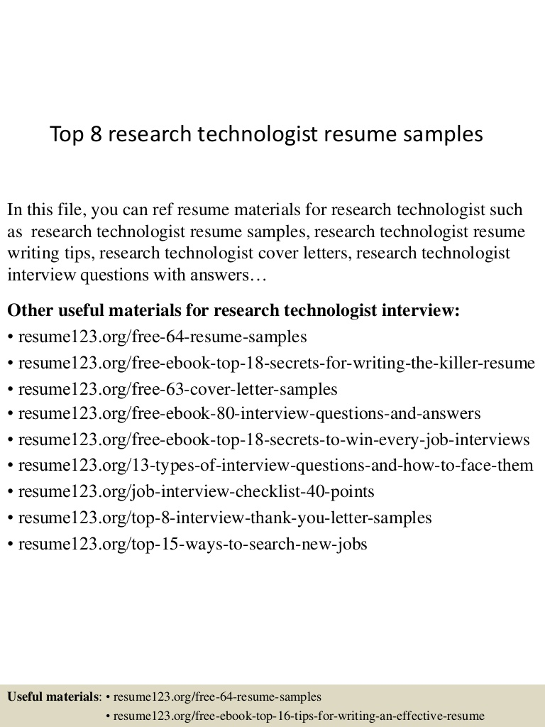 top research technologist resume samples architectural sample Resume Architectural Technologist Resume Sample