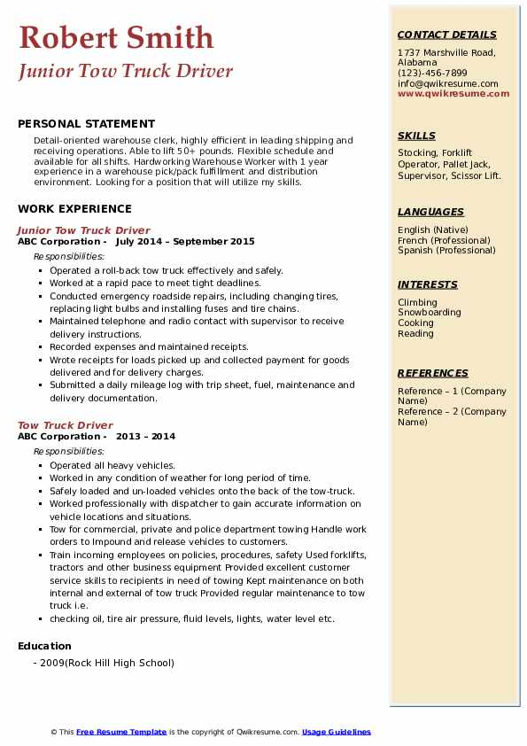 tow truck driver resume samples qwikresume dispatcher pdf administrative assistant Resume Tow Truck Dispatcher Resume