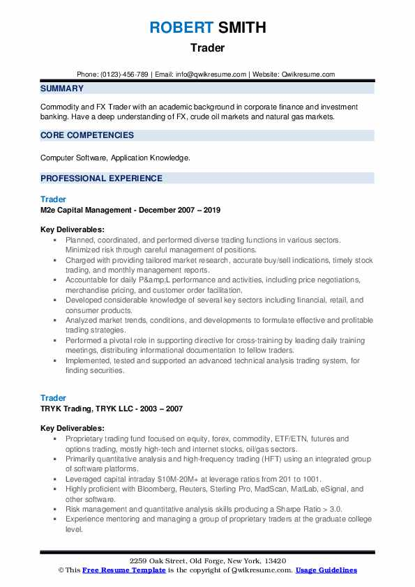 trader resume samples qwikresume foreign exchange trading pdf school librarian example Resume Foreign Exchange Trading Resume