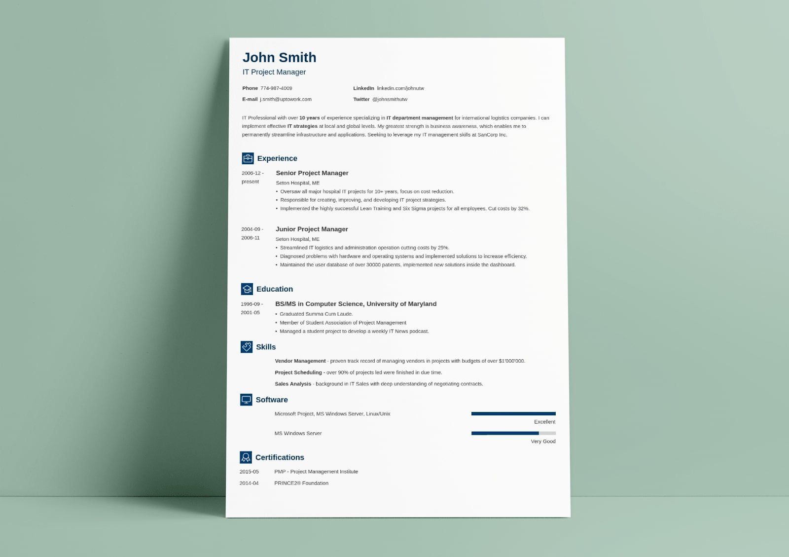 traditional resume template classic examples chronological design newcast fourth grade Resume Chronological Resume Traditional Design