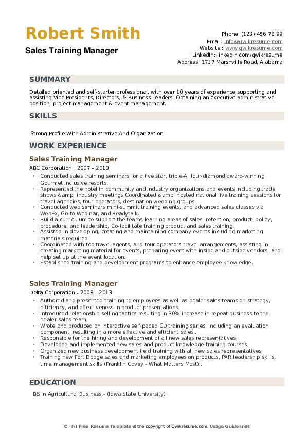 training manager resume samples qwikresume retail pdf warehouse operations examples Resume Retail Training Manager Resume