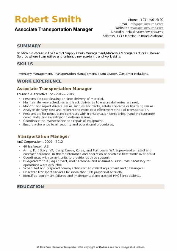 transportation manager resume samples qwikresume director of pdf senior clinical research Resume Director Of Transportation Resume