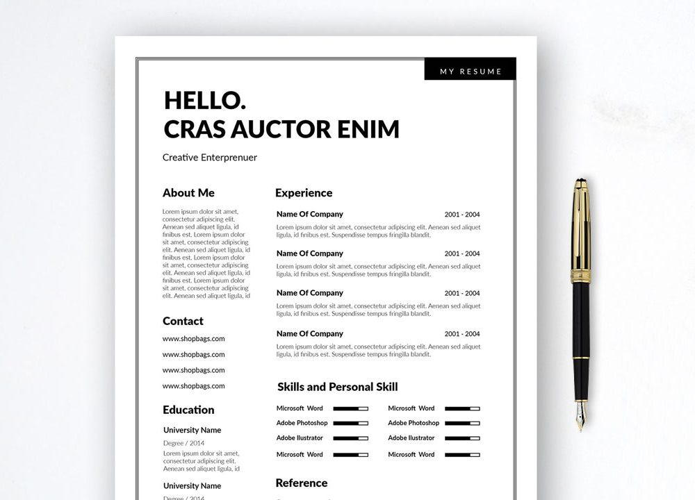 two column simple resume template in multi file format maxresumes word activities section Resume Simple Two Column Resume Template