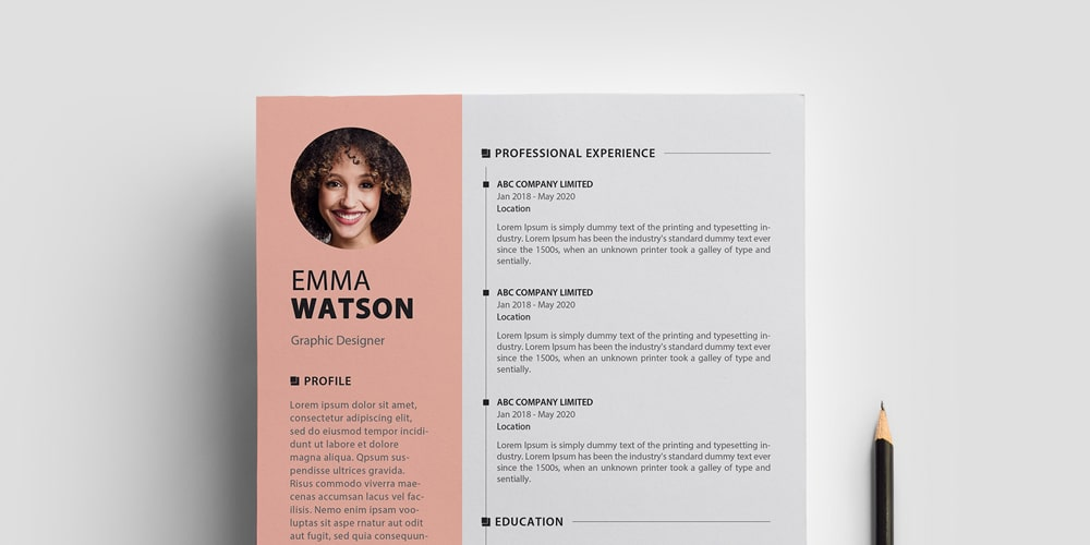 ultimate collection of free resume templates author with photo cv template uncg Resume Free Resume Templates 2020 With Photo
