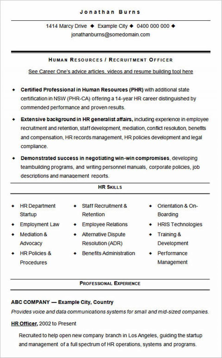 ultimate guide to writing your human resources resume hr recruiter hiring manager job Resume Hiring Manager Job Description For Resume