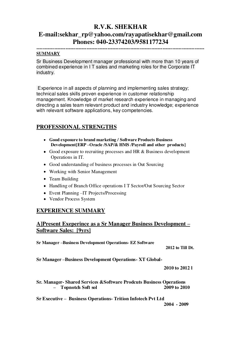 updated business development manager resume updatedbusinessdevelopmentmanagerresume1 Resume Business Manager Resume