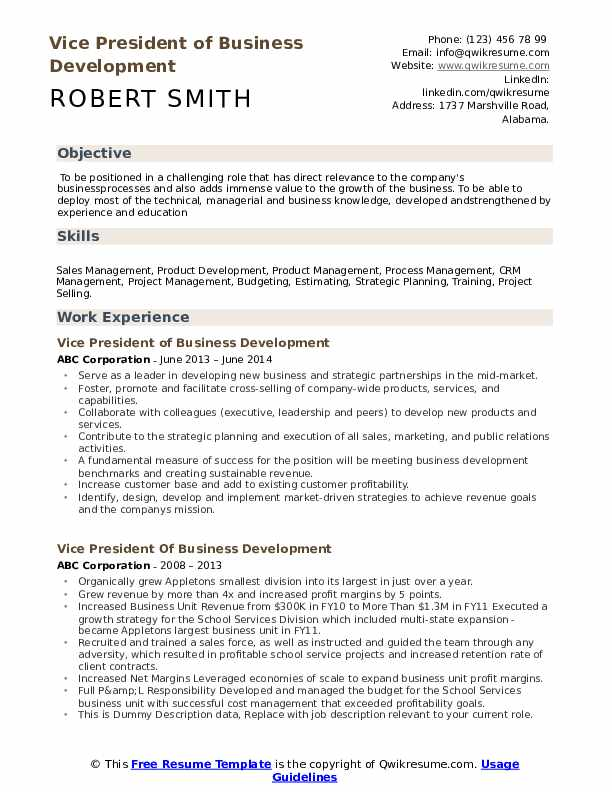vice president of business development resume samples qwikresume responsibility examples Resume P&l Responsibility Resume Examples