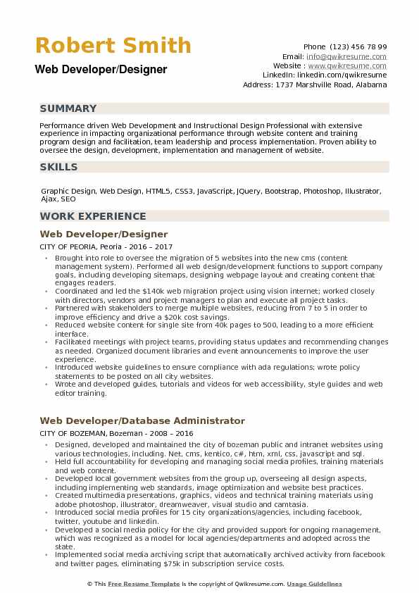 web developer designer resume samples qwikresume sample for freshers pdf investment Resume Web Designer Resume Sample For Freshers