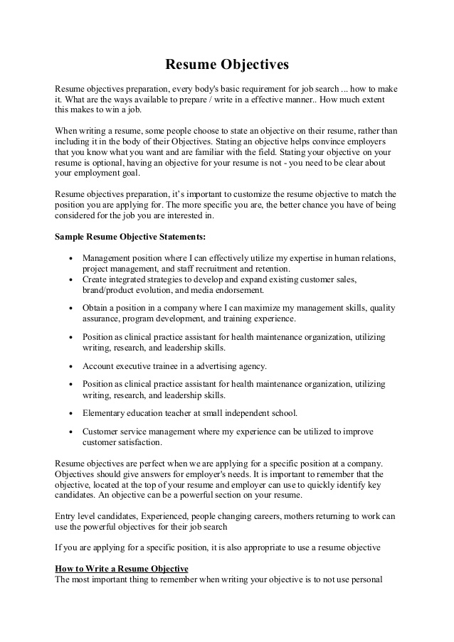 writing objective resume customer service examples maintenance objectives alarm Resume Maintenance Resume Objective