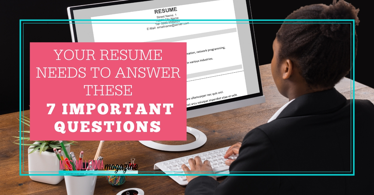 your resume needs to answer these important questions about volunteer work on objective Resume Questions About Your Resume