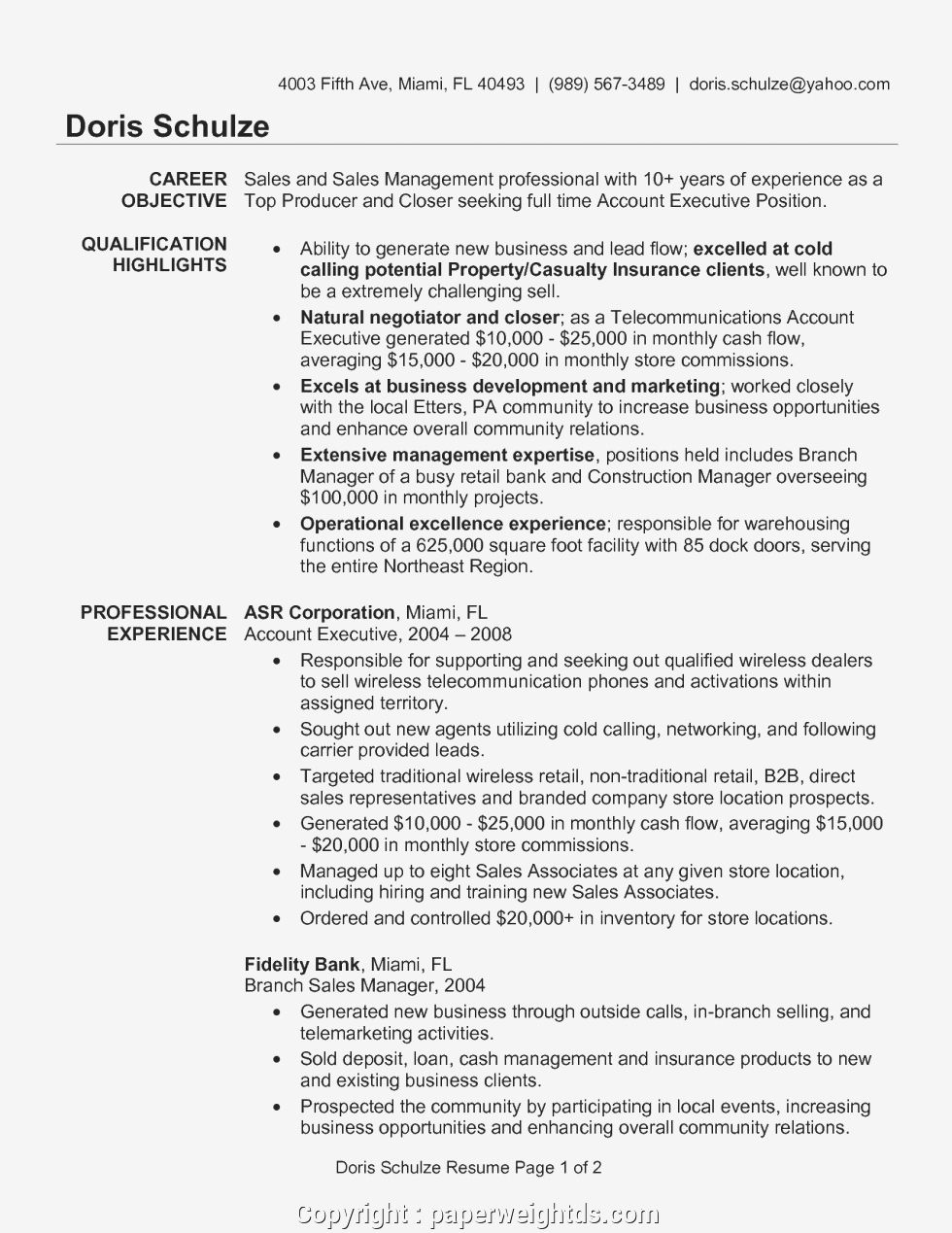 account executive sample resume manager examples best template for objective keywords Resume Best Resume For Account Manager