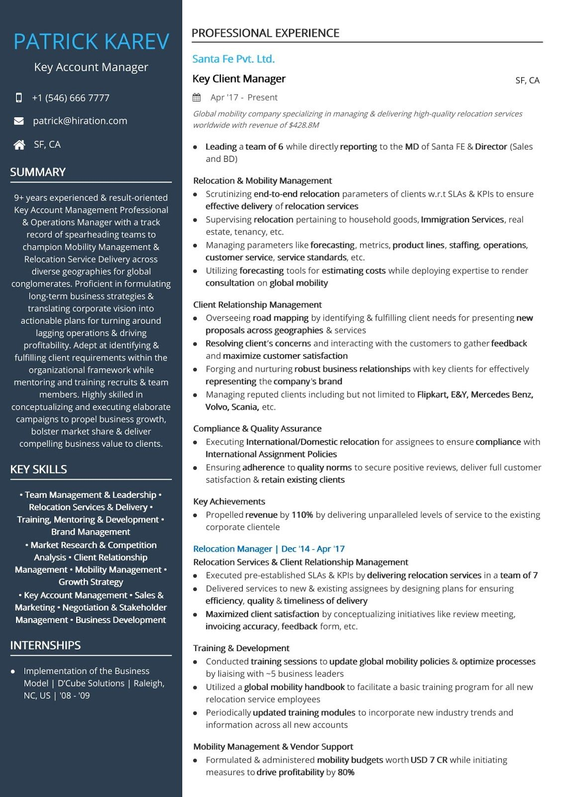 account executive sample resume manager examples ma job accounting corporate sterile Resume Corporate Account Manager Resume