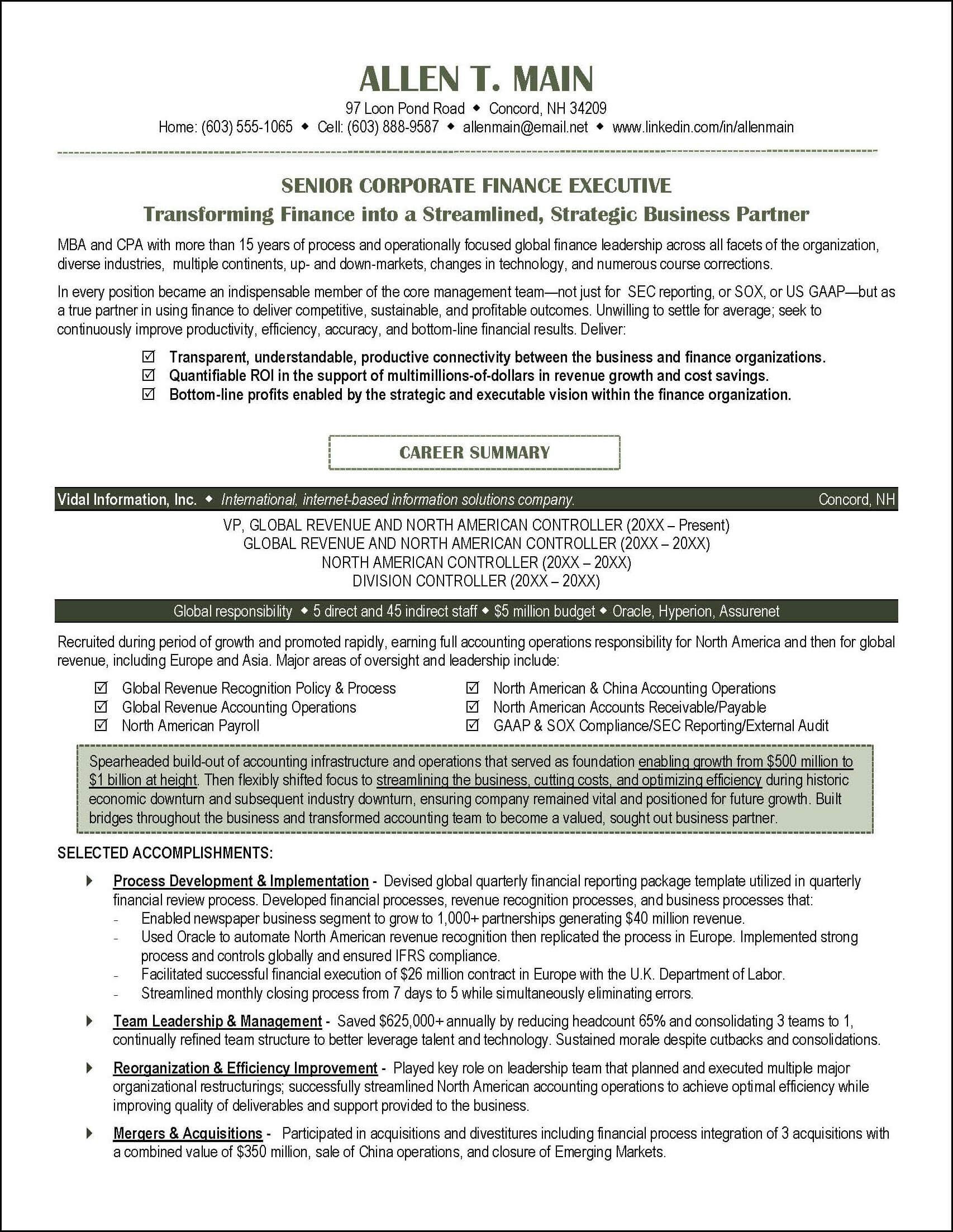 accounting resume example distinctive documents professional writing service examples Resume Employment Gaps On Resume
